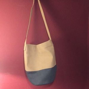 Free People color block bucket bag